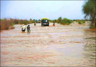Flood like situation in Jaisalmer district