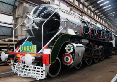 Railways vintage steam engine 'Akbar' back for Rajasthan tour