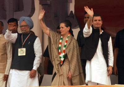 Eight rallies by PM, Sonia and Rahul in poll bound Rajasthan