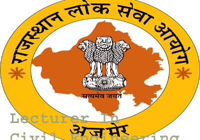 RPSC announces interview result of Lecturer in Civil Engineering