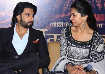 Ram Leela promotions by Ranveer Singh and Deepika Padukone in Jaipur