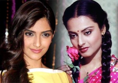 Sonam Kapoor in Bikaner to shot 1980's 'Khoobsurat' remake