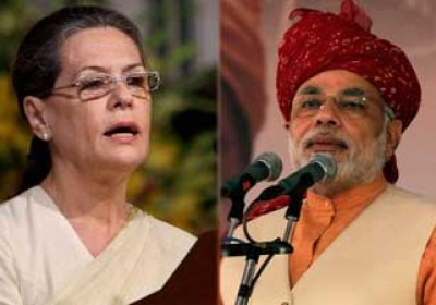 Sonia and Modi rallies in Rajasthan today