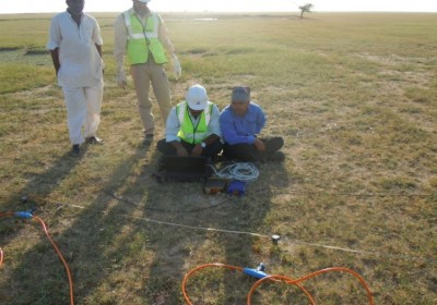 Hunt for ground water in Ramgarh with Airborne magnetic survey