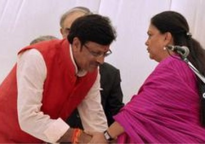 12 ministers inducted in Vasundhara Raje lead Rajasthan Government