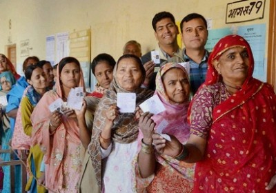 Voting on April 17, 24 for Lok Sabha Election 2014 in Rajasthan