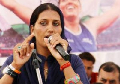 Congress candidate Champion discus thrower Krishna Poonia loses to BSP candidate