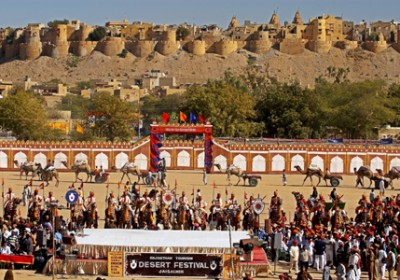 Preparations on full flow for famous festivals of Rajasthan