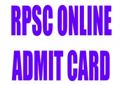 RPSC Steno Exam 2011 (Phase-II) Admit Card Download