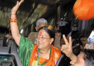 Rajasthan CM Vasundhara Raje to induct ministers in cabinet today