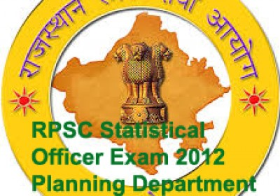 RPSC releases admit card for Statistical Officer Exam 2012
