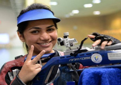 Apurvi Chandela bagged 4 medals in Hague shooting champ