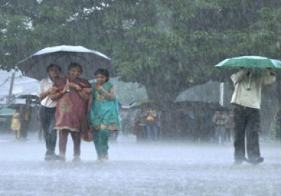 Heavy rains lashes in Rajasthan
