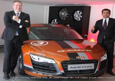 Udaipur Gets Audi Showroom , Second in State