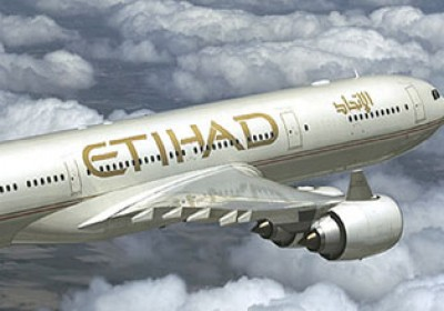 Jaipur-Abu Dhabi flight by Etihad Airways