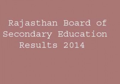 Rajasthan Board of Secondary Education Results 2014