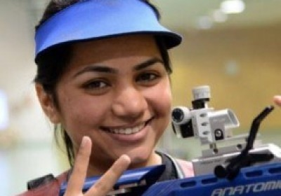 Apurvi Chandela Welcomed in Home After Winning Gold in CWG Games