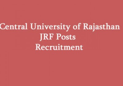 Central University of Rajasthan JRF Posts