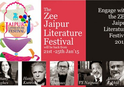 The eighth Jaipur Literature Festival inaugurated by Vasundhara Raje