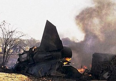 Indian Air Force MIG -27 aircraft Crashes in Barmer Rajasthan