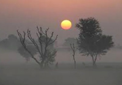Cold wind Sweeps across Northwest Rajasthan