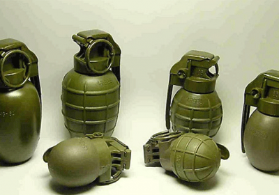15 Live Hand Grenades Recovered From Gomet village near Jaisalmer
