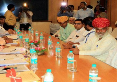 Rajasthan Assembly on Tuesday passed separate Bills providing five per cent reservation to Gujjars and other communities