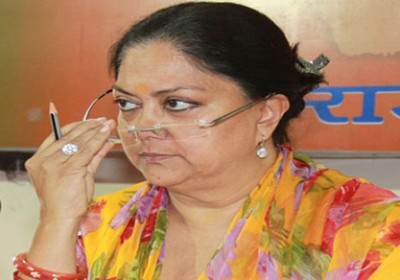 BJP dismisses Congress demand for Vasundhra Raje resignation