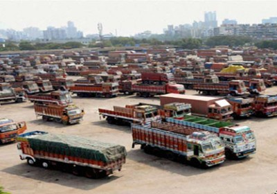 Strike by truck operators against toll tax hits transportation of goods in Rajasthan