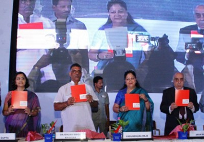 Young start ups receive prize at Rajasthan Start up Fest by Chief Secretary, C S Rajan