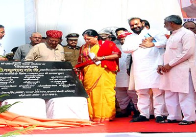 Raje to pay acclaim to 1500 tribal Martyrs in Banswara