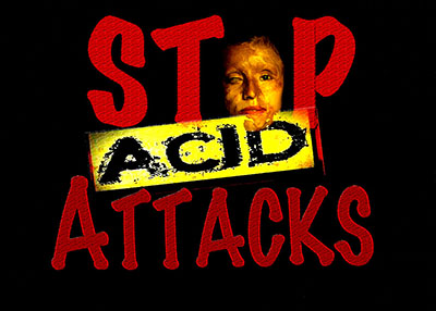 Acid attack on college student