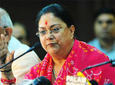 Raje raises Polluted water issue with Punjab