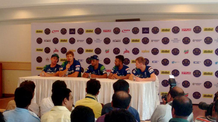Picture courtesy: Rajasthan Royals' Twitter handle