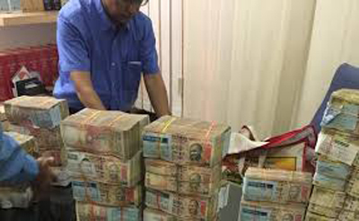 3.8 million bribery charges arrested in the mining department chief secretary Ashok Singhvi