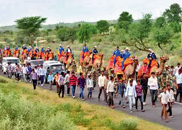 BSF -IAF Women Camel expedition: Indo -Pak Border